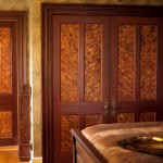 Hand painted doors in The Artist's Dream